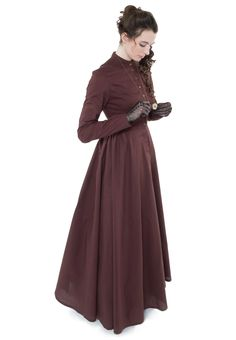Cotton Dress By Recollections (Victorian Era)