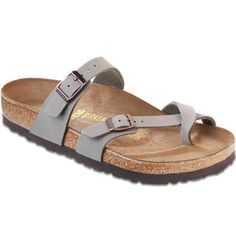 ISO Birkenstock mayari (stone) Will trade anything in my closet. Also willing to pay for a reasonable price! Size 8 or Birkenstock Shoes Flats & Loafers Denim Shoes, Grey Shoes, Cute Shoes, Me Too Shoes, Denim Sandals, Birkenstock Mayari Stone, Birkenstock Sandals, Zapatillas Slip On, Toe Loop Sandals