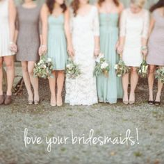 Advice from a bridesmaid to the bride. Perfect way to keep a sane and cooperative wedding day.