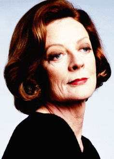 Maggie Smith, photographed in 1990