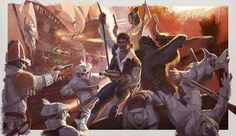 Starwars Han and the gang steampunk by lovingit2.deviantart.com on @DeviantArt