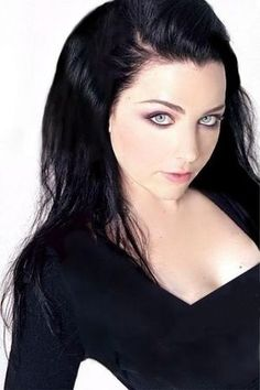 Amy Lee- long, dark, straight hair