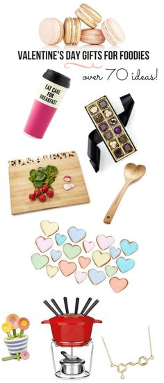 Over 70 Valentine's Day gift ideas for foodies! For the coffee addict, chef, chocoholic, griller, wine lover, and more! Find the perfect Valentine's Day gift.