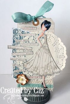 Dies to Die For: Prima Mixed Media Doll Stamps...