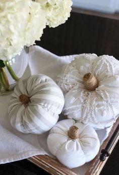 Velvet Pumpkins, Fabric Pumpkins, Fall Pumpkins, Sweater Pumpkins, White Pumpkins, Autumn Crafts, Thanksgiving Crafts, Holiday Crafts, Diy Pumpkin