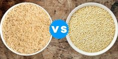 Houve um tempo em que o arroz era o único grão diário de milhares de mesas no mundo até a chegada da Quinoa. A Quinoa surgiu como uma alternativa saudável. Ela já tomou o lugar do arroz em muitas receitas. Você poderia argumentar que comparando Quinoa com Arroz não é justo, porque a Quinoa não é...