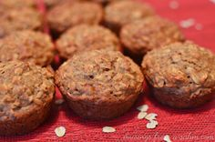 "Apple Oatmeal Muffins Recipe: A Perfect ""Healthy"" Snack for Kids - Musings From a Stay At Home Mom"