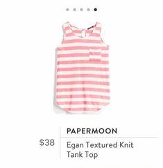 Stitch Fix: Papermoon Egan Textured Knit Tank Top $38