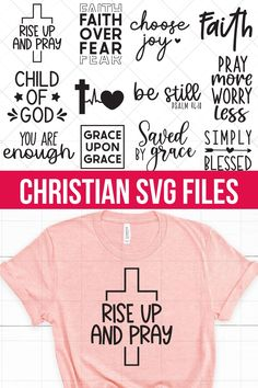 Christian Crafts, Christian Shirts, Christian Life, Camp Shirts, Cricut Svg Files Free, Holy Shirt, Jesus Bible, Message Of Hope, Christmas Quotes
