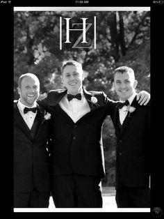 Groomsmen...the groom...and best man