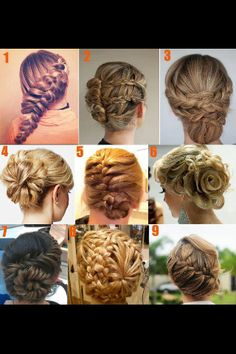 Beautiful hair styles <3 luv it!!