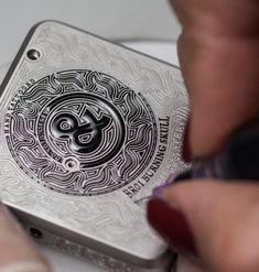 Bell & Ross BR01 Burning Skull Watch Engraving