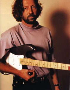 Eric Clapton (30 Mar 1945 - present). Was a member of The Yardbirds, John Mayall's Bluesbreakers, Cream, Blind Faith, Delaney & Bonnie & Friends, Derek and the Dominoes. Trademark: Fender Stratocaster. Nickname: Slowhand.