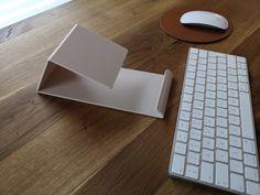 LAPTOP STAND Matte Beige Minimal Acrylic Desk Laptop Riser | Etsy