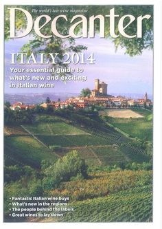 Decanter February 2014 Issue: and we're in! With Zibibbo 2012, Marsala Superiore Dolce and Marsala Superiore Riserva