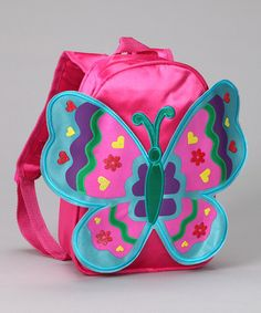 Look what I found on #zulily! Fuchsia Wing Backpack by Princess Expressions #zulilyfinds