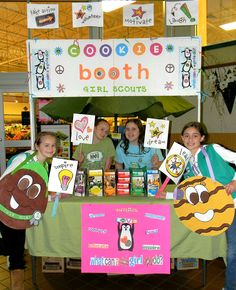 Bling My Booth 2013 | Girl Scouts