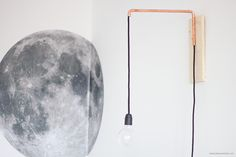 [ DIY ] Une lampe articulée cuivrée dans un esprit récup'