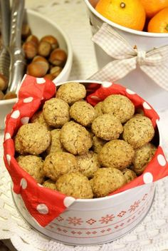 ciastka orzechowe Dog Food Recipes, Cereal, Cookies, Breakfast, Biscuits, Morning Coffee, Cookie Recipes, Cookie, Breakfast Cereal