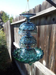 glass birdfeeders - Google Search