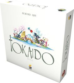 Tokaido - I want this badly! Fun Japanese travel style game with a competitive edge!
