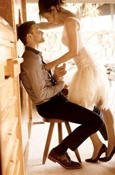 Justin Timberlake and Mila Kunis for Elle Magazine