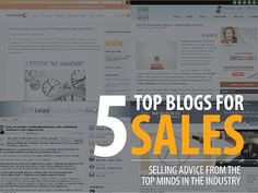 5 Must-Read Sales Blogs: #Sales & #B2B blogs you should be following