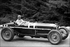 GP SPA - 1934 -Alfa Romeo P3 #14 - Louis Chiron - retired/crashed after 20 laps.