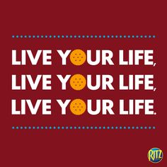 Really though, just live it! #Life #WordsToLiveBy Fun Quotes, Best Quotes, Cheer You Up, Live Your Life, Some Words, Words Of Encouragement, Live For Yourself, Funny, Best Quotes Ever