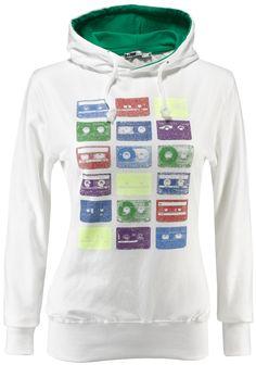 Felpa donna BeAW 95% cotone 5% elastane con stampa ad acqua, interno cappuccio colore a contrasto.    Prezzo: 29.90€    SHOP ONLINE: http://www.aw-lab.com/shop/donna/abbigliamento/felpe/felpa-beaw-music-9190407