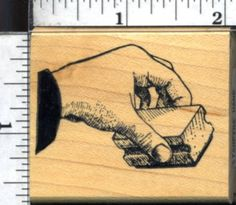 RUBBER STAMPS OF AMERICA - Stamping Hand - mounted rubber stamp UNINKED