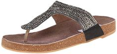 Steve Madden Womens Radlee Flip Flop Pewter 7 M US *** This is an Amazon Affiliate link. For more information, visit image link.