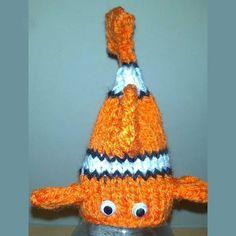 Innocent Smoothies Big Knit Hat Patterns Nemo