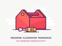 Adobe Illustrator Workspace for icon design http://iconutopia.com/adobe-illustrator-workspace-for-icon-design/