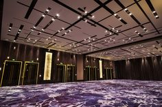 Grand Hyatt, Shenyang, China  Ballroom - Allow skyfold pockets to be read as a large scale channel