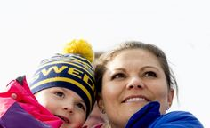 Reines & Princesses - The royal family attended the day of competition, which takes place in the World Championship Nordic skiing in Falun.