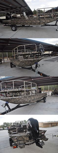 boats: 2017 Crestliner 2000 Arrow Duck - Bow Fishing With Mercury 115 Hp 4 Stroke Mtr BUY IT NOW ONLY: $24495.0 Bow Fishing, Bass Fishing Boats, Duck Hunting Boat, Boat Crafts, Jon Boat, Power Boats, Saltwater Fishing, Boats For Sale, Fresh Water