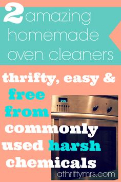 Homemade oven cleaner httpmamato5blessings201401diy 2 thrifty recipes for oven cleaner which is free from commonly used harsh chemicals solutioingenieria Image collections