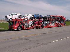 Condor cartransport foto bewaard door E Janssen. Big Rig Trucks, Toy Trucks, Classic Trucks, Classic Cars, Transport Pictures, Benne, Car Carrier, Mosquitos, Road Train