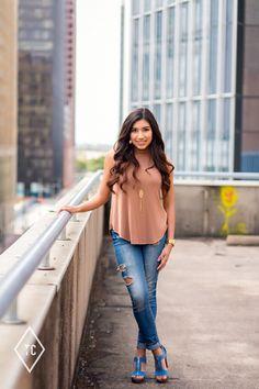Downtown Houston Senior Pictures With Ashley!