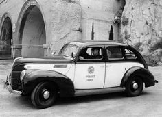 Old Police Cars | Just a car guy: Cool old police vehicles and motorcycles
