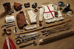 Fighting archer, Battle of Azincourt, 1415