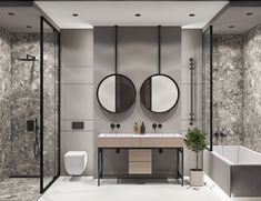 Modern Bathroom Loft-style and minimalism interior by QUADRO ROOM Современная ванная комната