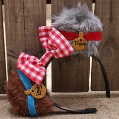 Lady and the Tramp-Inspired Mouse Ear by ModernMouseBoutique