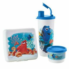 Disney/Pixar Finding Dory Lunch Set Order at tabithabowers.my.tupperware.com