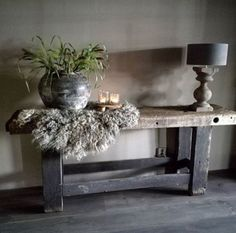 too dark and bleak but with some color? Rustic Design, Rustic Style, Rustic Decor, Urban Rustic, Beach Cottage Style, Rustic Interiors, Wabi Sabi, Cabana, Decoration
