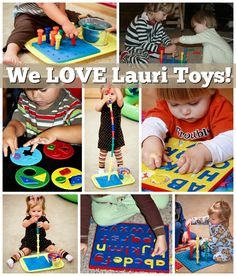 Lauri Toys ~ A Longtime Favorite for Early Childhood and Beyond! Classic Toys, Fun Learning, Educational Toys, Early Childhood, Homeschool, Kids Rugs, Children, Creative, Young Children