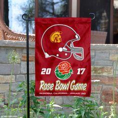 USC Trojans 2017 Rose Bowl Garden Flag