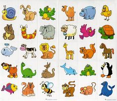 Pin secretos imagenes de animales para escribir palabras picture to χειροτε Farm Animals For Kids, Animal Worksheets, Word Pictures, Animals Images, Art Plastique, Kids Education, Cute Drawings, Art Images, Kids Learning