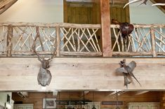 Asheville Furniture Craftsman creating rustic outdoor furniture, railings, beautiful log stairs and handcrafted interior furniture from locally sourced Metal Stair Railing, Front Porch Railings, Balcony Railing, Cabin Design, House Design, Rustic Stairs, Wide Plank Flooring, Half Walls, Basement Stairs